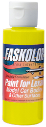 Parma PSE FasYellow Faskolor Lexan Body Paint (2oz)