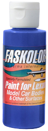 Parma PSE FasBlue Faskolor Lexan Body Paint (2oz)