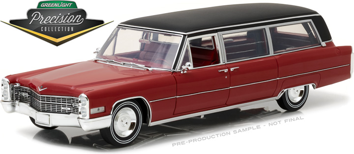 Greenlight Precision Collection - 1/18 1966 Cadillac S&S Limousi