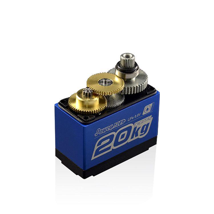 Power HD LW-20MG Digital Waterproof Servo 20KG 0.16sec@6.0V - Click Image to Close