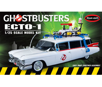 Polar Lights Ghostbusters Ecto-1 Snap 1/25 Model Kit (Level 2)