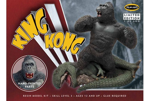 Polar Lights King Kong Resin Figure (Painted) (Level 3)