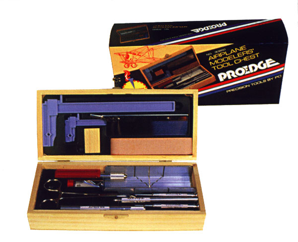 Deluxe airplane modelers tool chest set