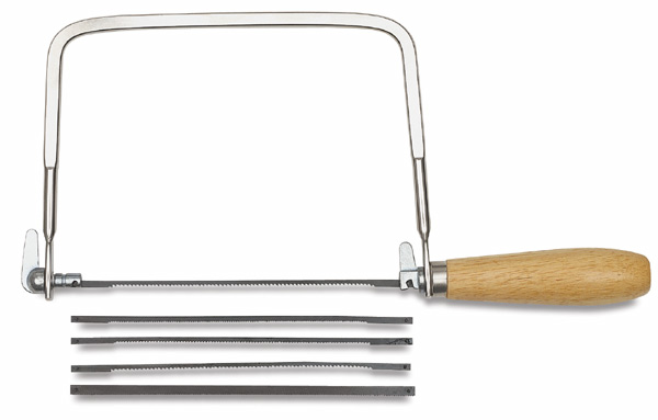 Coping saw 4 extra blades carded