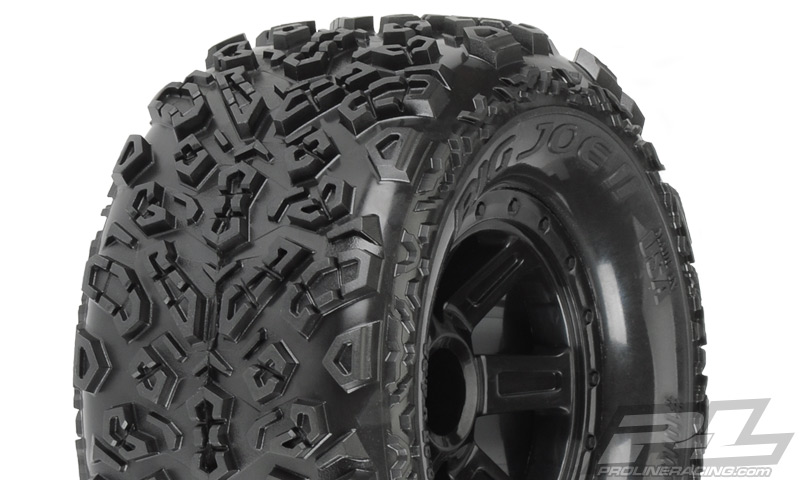 "Pro-Line Big Joe II 2.2"" All Terrain Tires Mounted on Desperado"