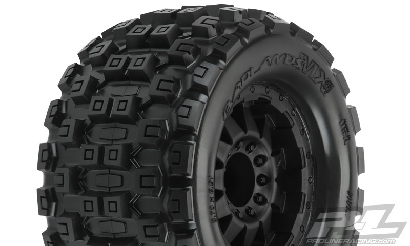 Pro-Line Badlands MX38 3.8in (Traxxas Style Bead) All Terrain Ti