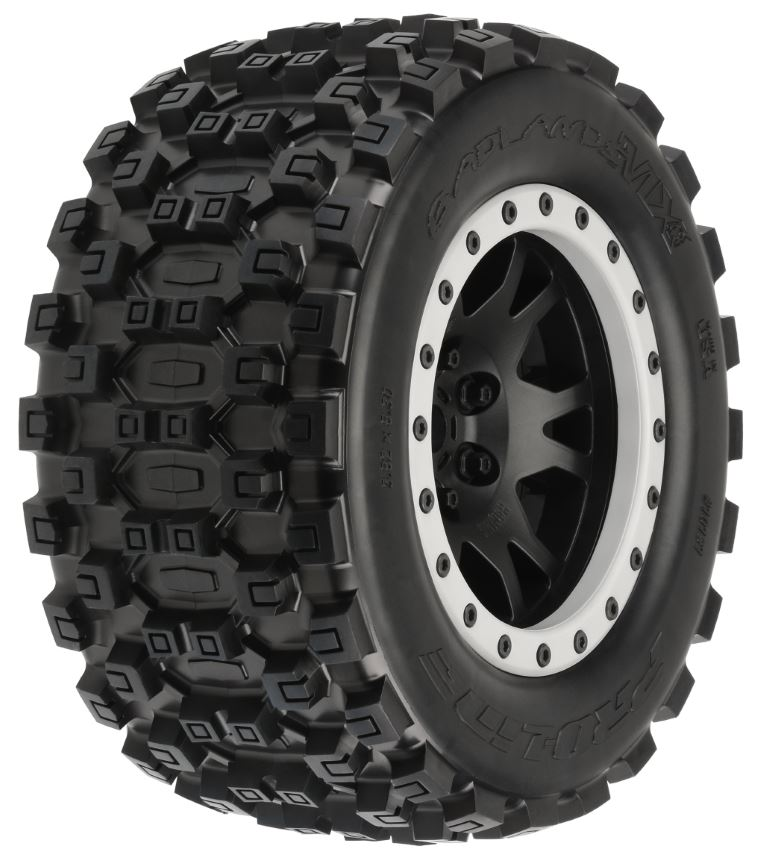 Pro-Line Badlands MX43 Pro-Loc All Terrain Tires (2) Mounted
