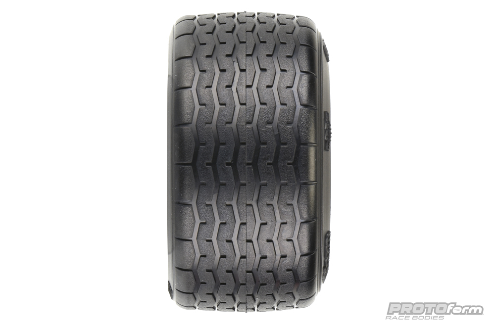 PROTOform VTA Rear Tires (31mm) Mounted on Black Wheels (2) for