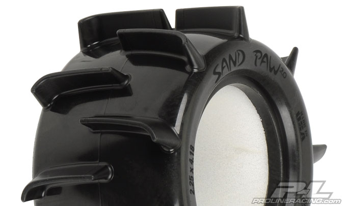 "Pro-Line Sand Paw 2.0 2.2"" Sand Truck Rear Tires (2)"