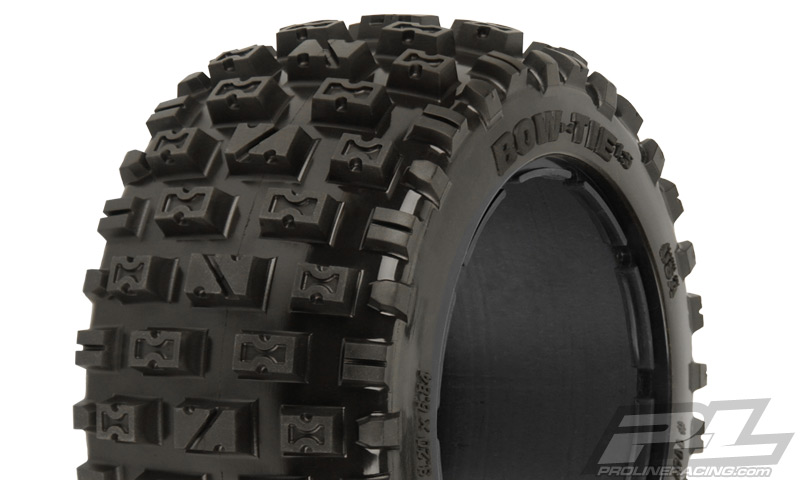 Pro-Line Bow-Tie Off-Road Rear Tires (2) No Foam for Baja 5b