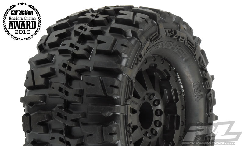 "Pro-Line Trencher 2.8"" (TraxxasR Style Bead) All Terrain Tires M"