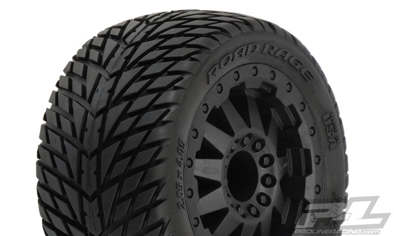 "Pro-Line Road Rage 2.8"" (TraxxasR Style Bead) All Terrain Tires"
