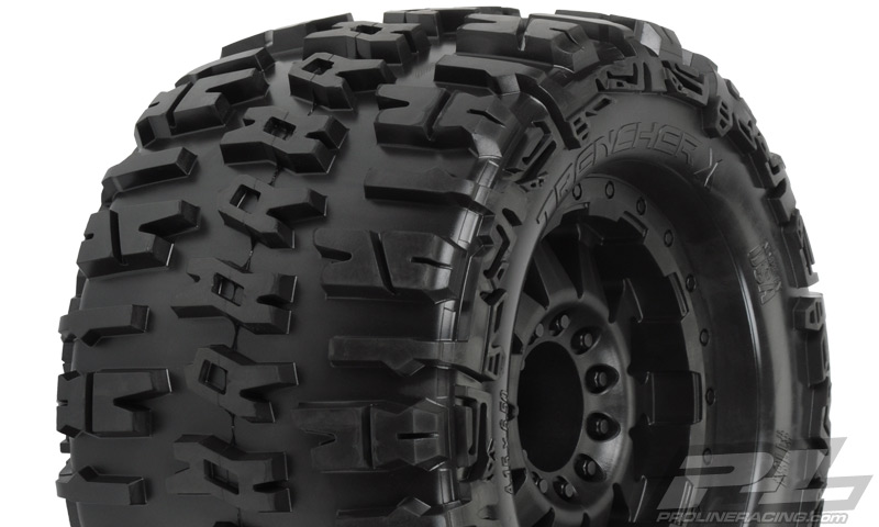 Pro-Line Trencher X 3.8in (Traxxas Style Bead) All Terrain Tires