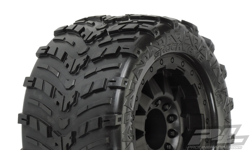 Pro-Line Shockwave 3.8in (Traxxas Style Bead) All Terrain Tires