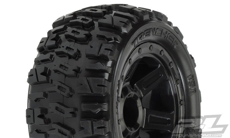"Pro-Line Trencher 2.2"" M2 (Medium) All Terrain Tires Mounted on"