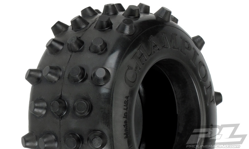 "Pro-Line RC10 Champion 1.6"" XTM Rear Tire (2)"