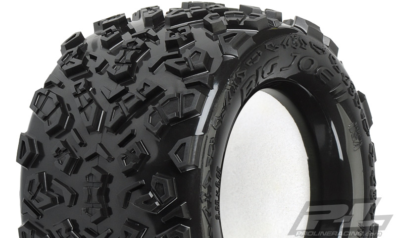 "Pro-Line Big Joe II 3.8"" (Traxxas Style Bead) All Terrain Tires"