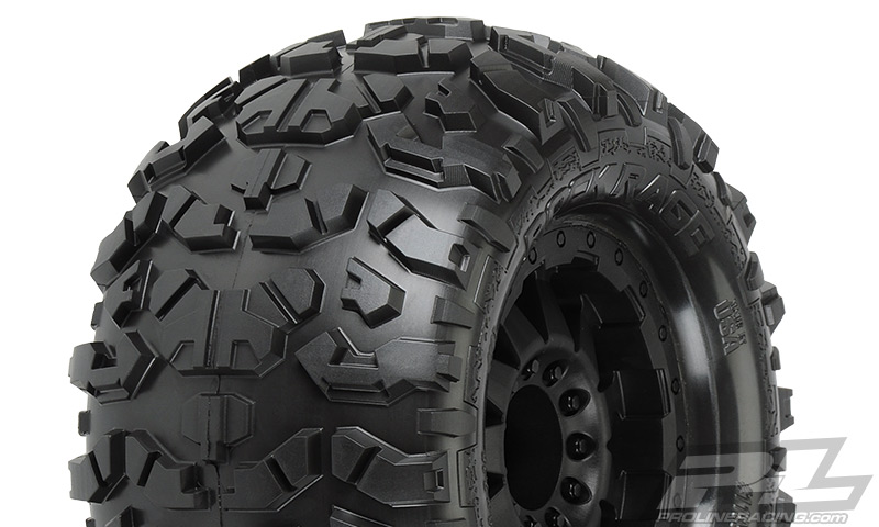 Pro-Line Rock Rage 3.8in (Traxxas Style Bead) All Terrain Tires