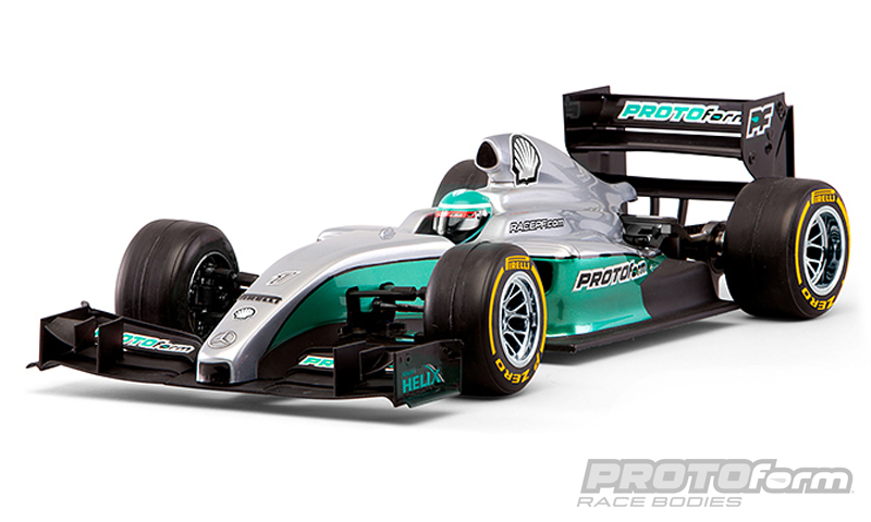 Pro-Line F1-Fifteen Clear Body for 1/10 Formula 1