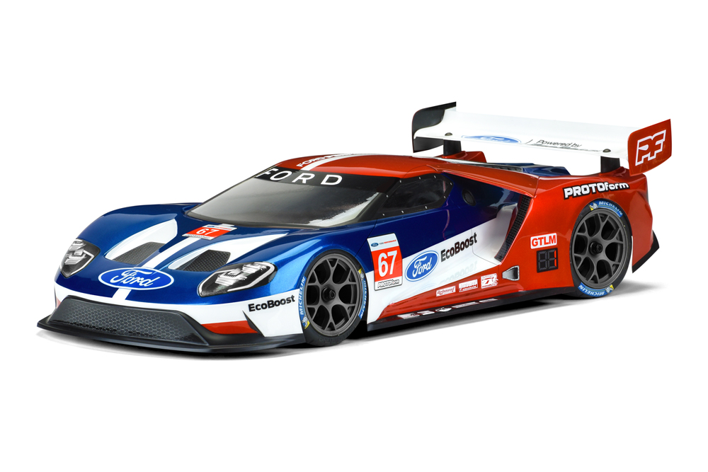 Pro-Line Ford GT Light Weight Clear Body for 190mm