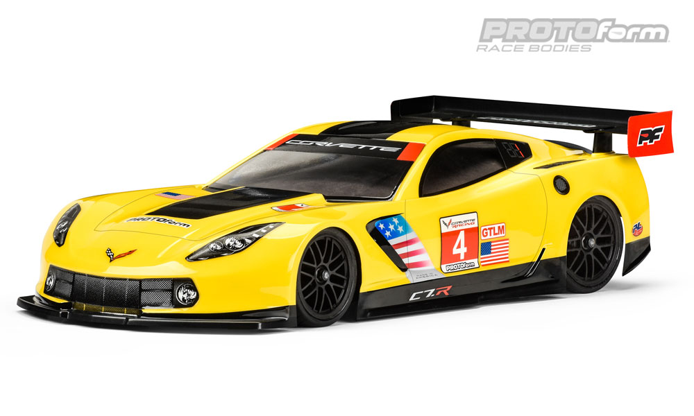 Pro Line Chevrolet Corvette C7.R Clear Body for 190mm