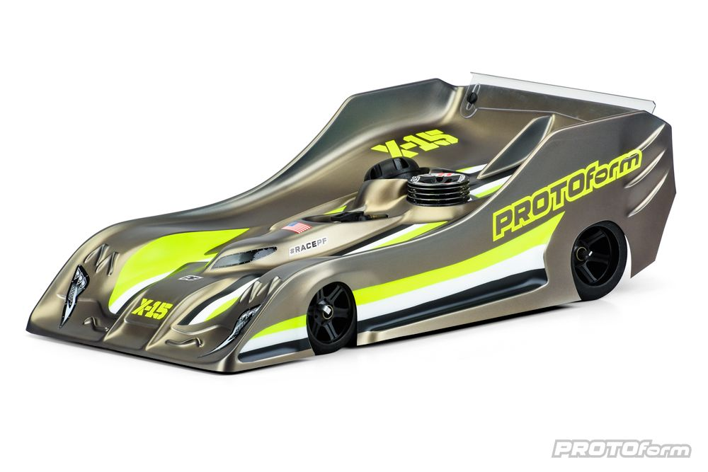 Pro-Line X15 PRO-Lite Weight Clear Body for 1/8 On-Road