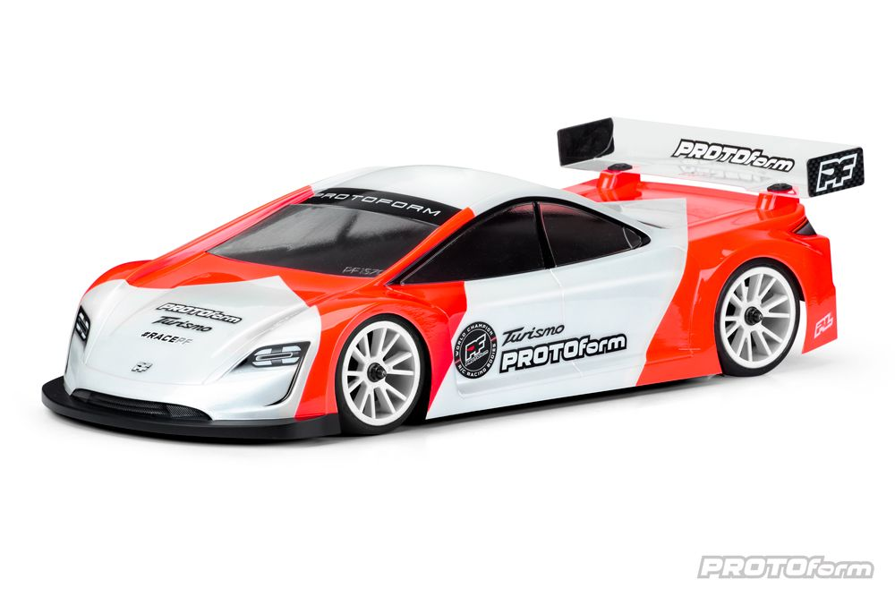 Pro-Line Turismo X-Lite Weight Clear Body for 190mm TC