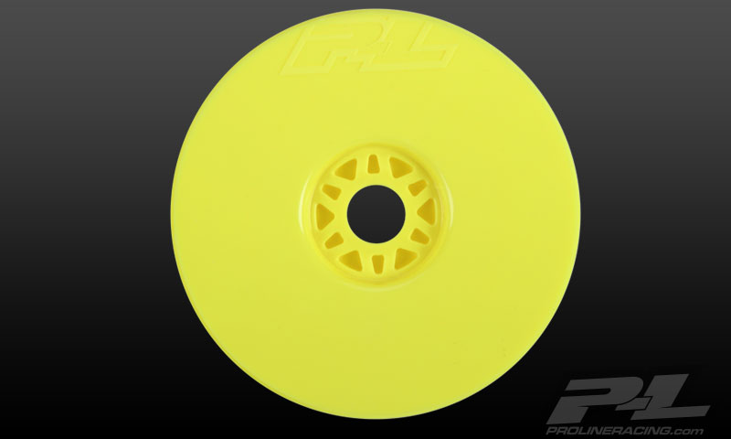 Pro-Line Velocity V2 Yellow Front or Rear Wheels (4) for 1/8 Bug