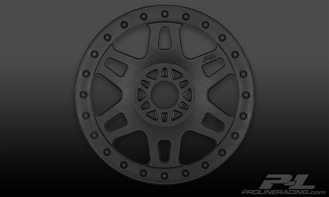 Pro-Line Split Six V2 Black Front or Rear Wheels (4) for 1:8 Bug