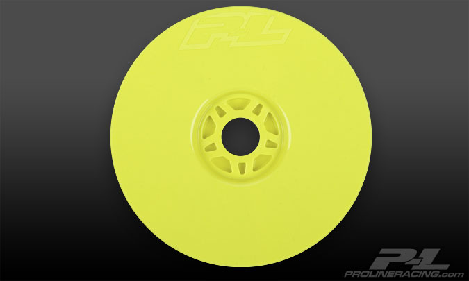 Pro-Line Lightweight Velocity Yellow Front or Rear Wheels (4)
