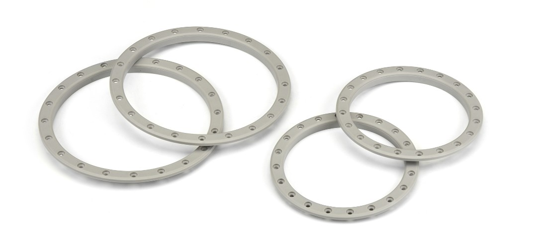 Pro-Line Impulse Pro-Loc Stone Gray Replacement Rings (2)