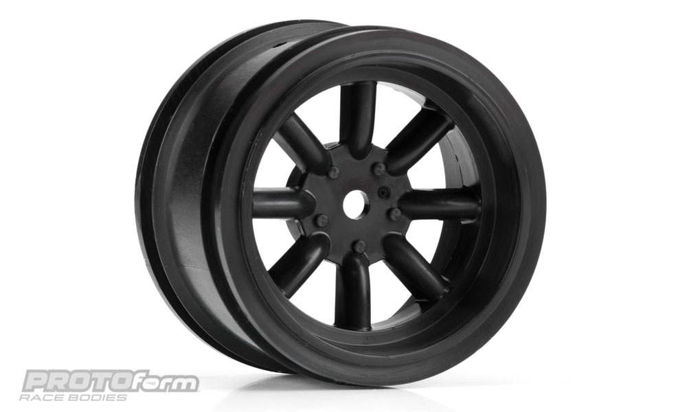 Pro-Line PROTOform VTA Rear Wheels Black (31mm) for VTA Class