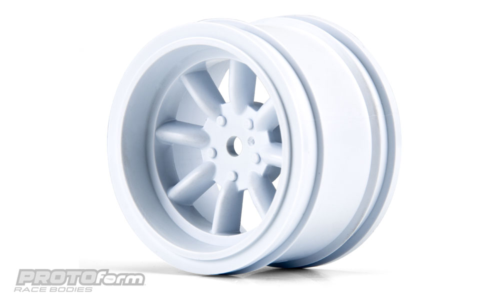 Pro-Line PROTOform VTA Rear Wheels White (31mm) for VTA Class