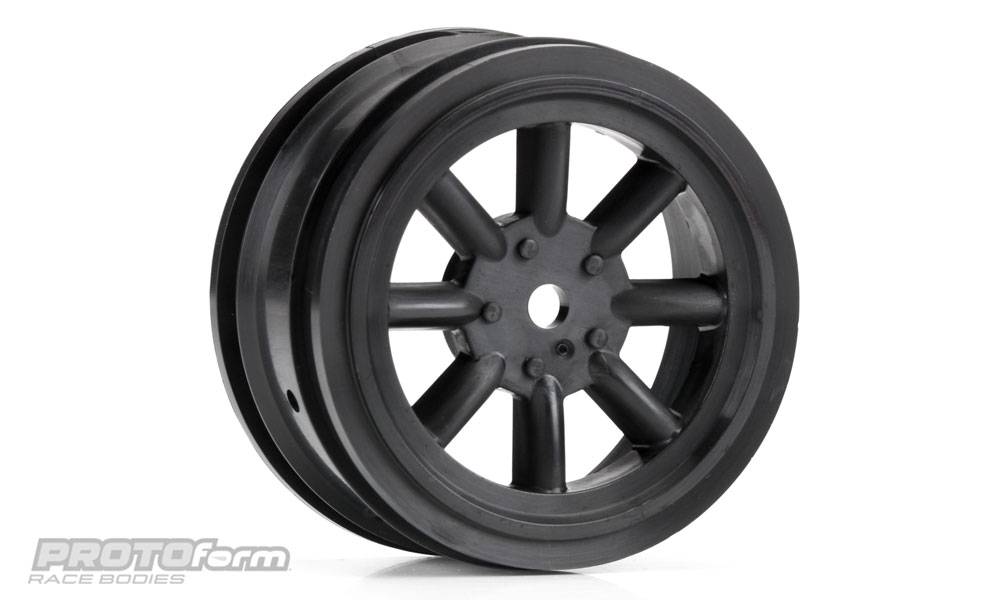Pro-Line PROTOform VTA Front Wheels Black (26mm) for VTA Class
