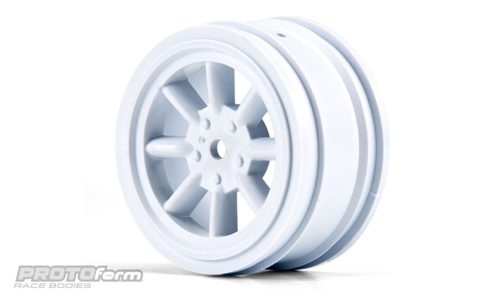 Pro-Line PROTOform VTA Front Wheels White (26mm) for VTA Class