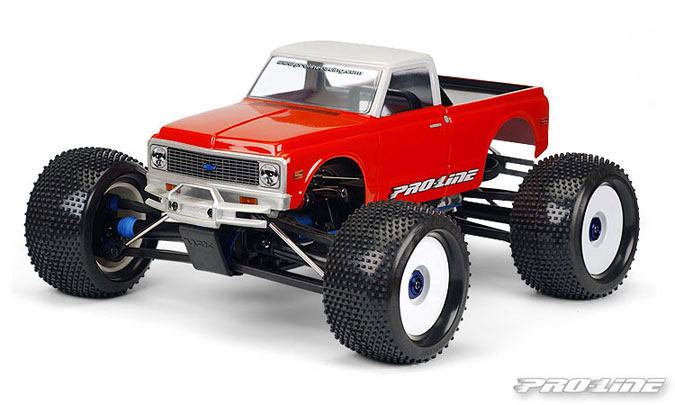 Pro-Line 1972 Chevy C-10 Clear Body for T/E/2.5-MAXX, REVO 2