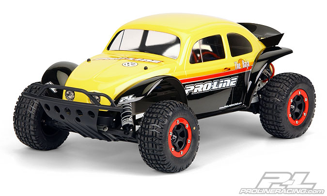 Pro-Line VolkswagenR Baja Bug Clear Body for PRO-2 SC, SlashR an