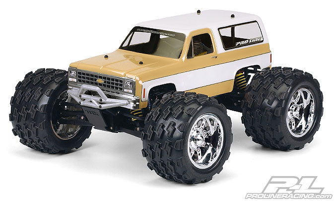 Pro-Line 1980 Chevy Blazer Clear Body for T/E/2.5-MAXX, REVO