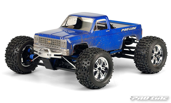 Pro-Line 1980 Chevy Pick-up Clear Body for E-MAXX 3905, E-REVO