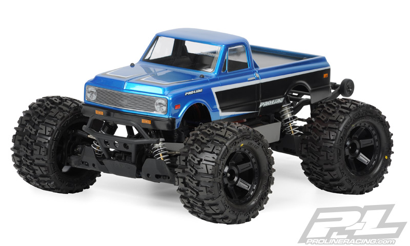 Pro-Line 1972 Chevy C-10 Clear Body for Stampede