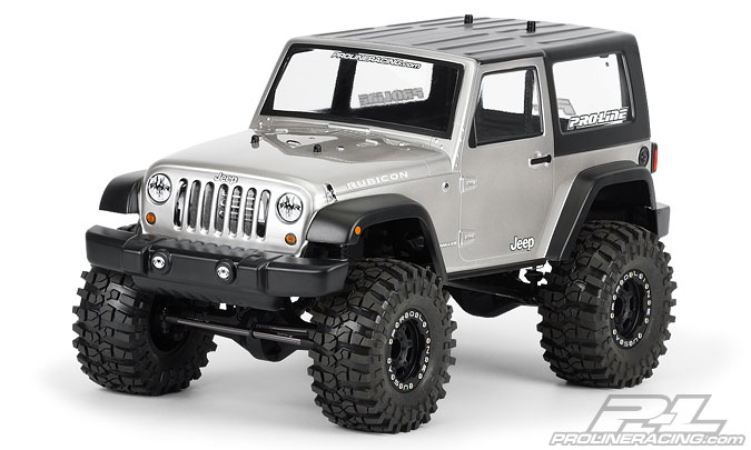 Pro-Line 2009 JeepR Wrangler Clear body for 1:10 Scale Crawlers