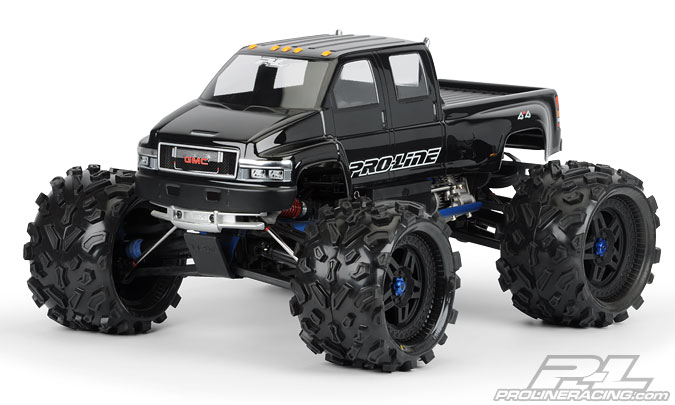 Pro-Line GMC Top Kick Clear Body for Savage XL Only