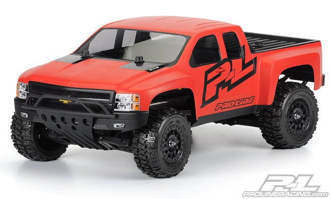 Pro-Line Chevy Silverado HD Clear Body