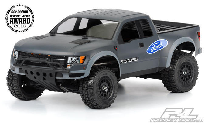 Pro-Line True Scale FordR F-150 Raptor SVT Clear Body for PRO-2