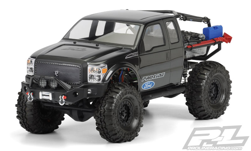 Pro-Line FordR F-250 Super Duty Cab for Axial SCX10 Trail Honcho