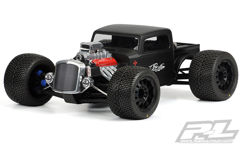 Pro-Line Rat Rod Clear Body for REVOR 3.3, E-REVOR & SUMMITR