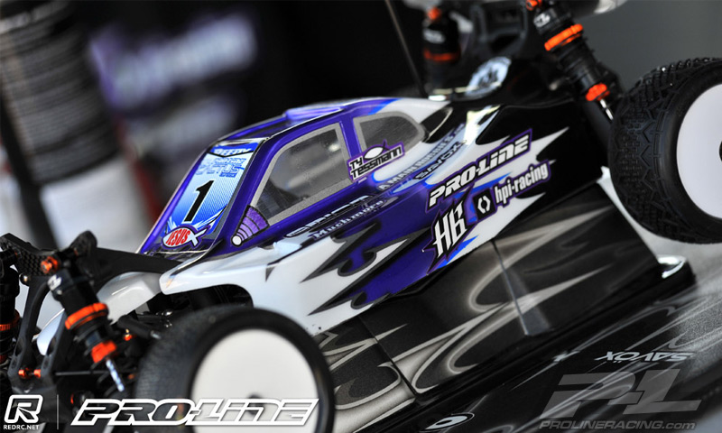 Pro-Line Type-R Clear Body for Hot Bodies D413