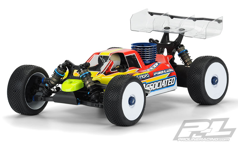 Pro-Line Pre-Cut Predator Clear Body for AE RC8B3