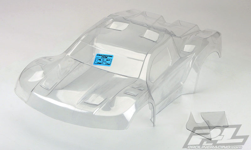 Pro-Line Pre-Cut Flo-Tek Fusion Clear Body for PRO-2 SC, SlashR,