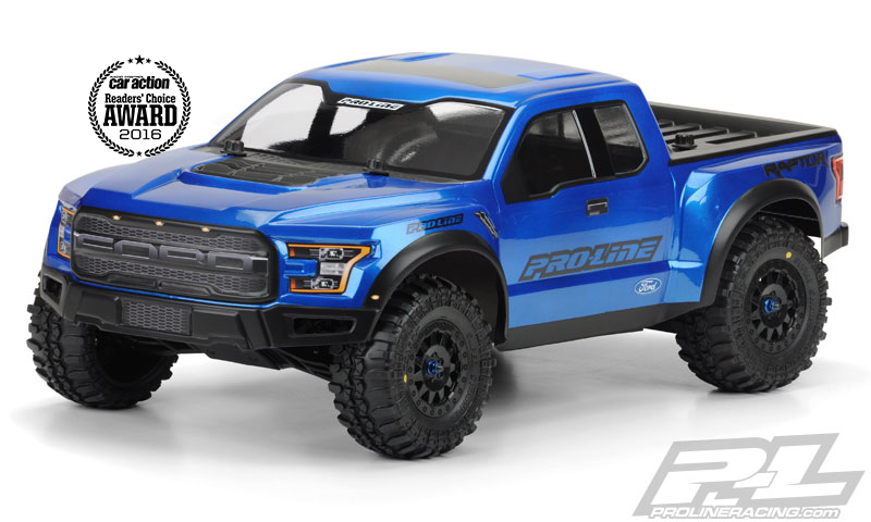 Pro-Line 2017 FordR F-150 Raptor True Scale for PRO-2 SC, 2WD/4x